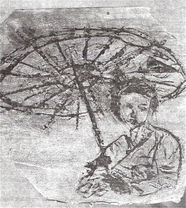 geisha-etching