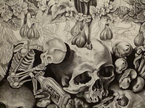 the healing garden, closeup, danielle demaray