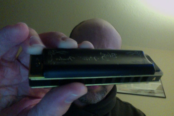 Fender Blues DeVille harmonica